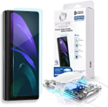 Dome Glass Screen Protector for Samsung Galaxy Z fold 2, Full Tempered Glass Shield with Liquid Dispersion Tech [Easy to I...