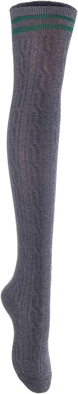 Big Girls' Women's 1 Pair Over Knee High Thigh High Cotton Socks Leg Warmers Size L/XL
