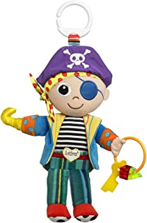 Lamaze Yo Ho Horace - Clip On Pram and Pushchair Newborn Baby Toy Pirate - Suitable from Birth LC27562 multi