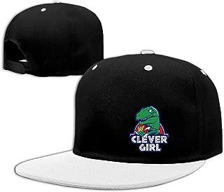 2016 Popular Clever Girl Dinosaur Flat Brim Adjustable Hat Cool