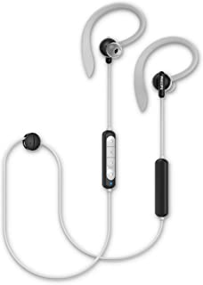 Philips Audio A4205BK/00 In-Ear Sports Headphones Bluetooth Wireless (Heart-rate Monitor, Built-in Mic, 10-mm Neodymium Dr...