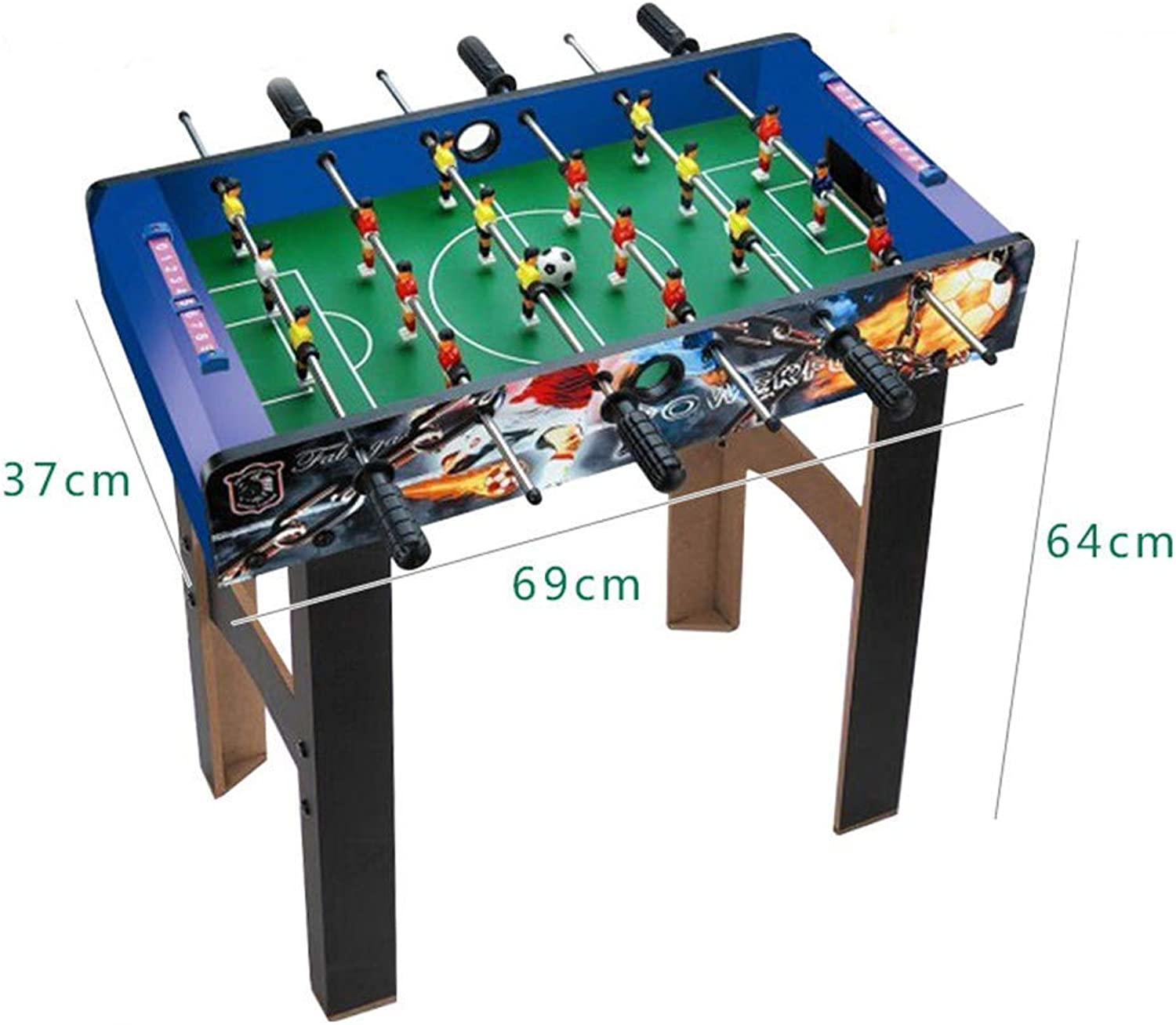 Room Multiplayer Tabletop Foosball Table for Indoor and Outdoor Professional Tables Football Soccer Game