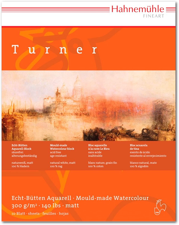 Aquarellblock William Turner matt 300g m², 30x40cm, 10Blatt B004RBTS10 | Ästhetisches Aussehen