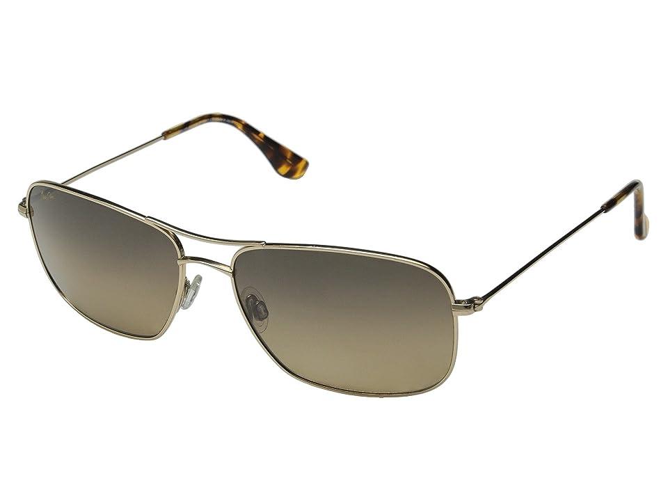 Maui Jim Wiki Wiki (Gold/HCL Bronze Lens) Sport Sunglasses
