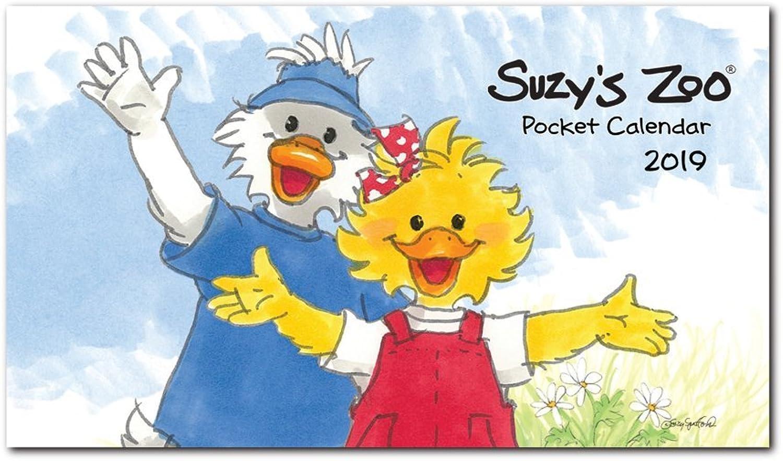 2019 Suzy 's Zoo Pocket Kalender (4 x x x 7) B00LAGNZUK | Feine Verarbeitung  fcdc10