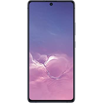 Samsung Galaxy S10 Lite New Unlocked Android Cell Phone, 128GB of Storage, GSM & CDMA Compatible, Single SIM, US Version, Black