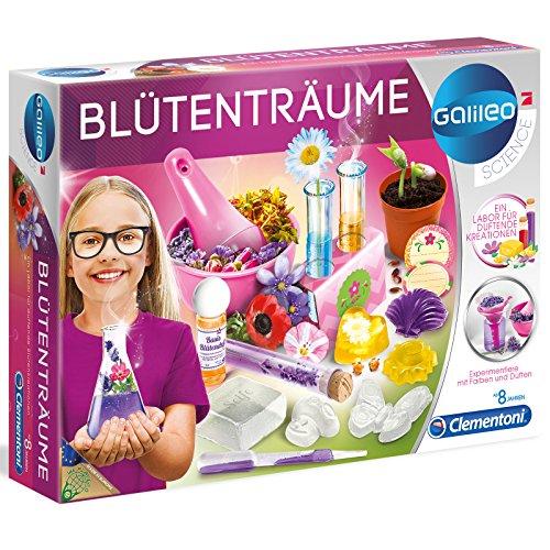 #11 Galileo Blütenträume - EIN Labor für duftende Kreationen Kosmetik Experimentierkasten Kinder Seife Parfüm Spielzeug Schminke Kinderschminke