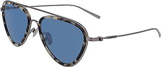 نظارات شمسية للنساء من كالفن كلاين، لون ازرق، 57 ملم، CK19122S