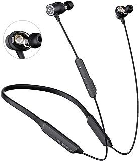 SoundPEATS Bluetooth Headphones Wireless cVc Noise Cancellation/ 22 Hours Playtime/APTX HD Audio Headset Sports Earphones ...