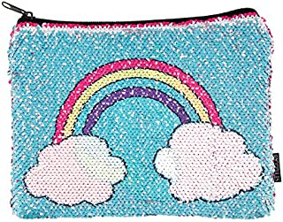 Style.Lab Unicorn/Rainbow Magic Sequin Reveal Pouch,