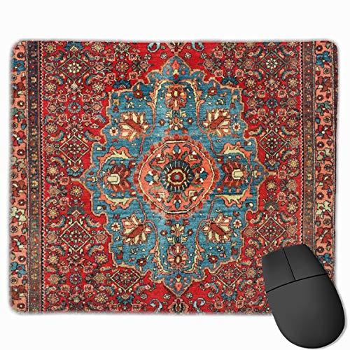 Bidjar Antik Kurdische Nordwesten Perserteppich Gaming Mauspad Mousepad Anti-Rutsch Gummi Mauspad Rechteck Mauspad für Schreibtisch Laptop Büro Arbeit