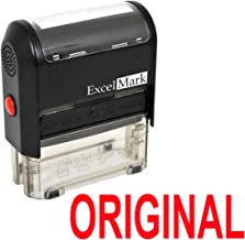 Original Self Inking Rubber Stamp - Red Ink (Stamp Only)