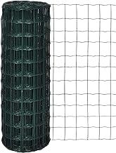 vidaXL Euro Gaas 25x1,0m/Maaswijdte 76x63mm Tuin Hek Afrastering Afscheiding