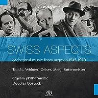アールガウの管弦楽作品集1945 - 1970 (Swiss Aspects orchestral music from argovia 1945 - 1970 ~ Tamas, Widmer, Geiser, Mieg, Sutermeister / argovia philharmonic , Douglas Bostock) [SACD Hybrid] [輸入盤]