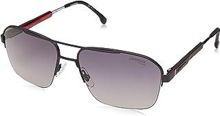 نظارة شمس بتصميم مربع للرجال من كاريرا، 8028/S - رمادي