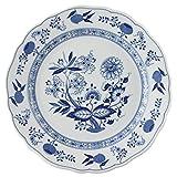 Hutschenreuther 02001-720002-10027 Zwiebelmuster Speiseteller, 27 cm mit Fahne, blau