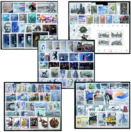 Goldhahn Berlin 1986-1990 postfrisch komplett - Briefmarken für Sammler