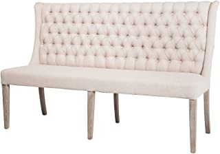 Design Tree Home Montmartre Banquette Dining Bench 65
