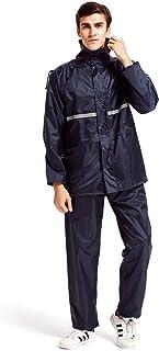 LANYI レインウェア 上下セット メンズ レディース レインスーツ レインコート 雨具 カッパ ゴルフ バイク 自転車 登山 アウトドア 梅雨・台風対策 防水 収納袋付き 男女兼用