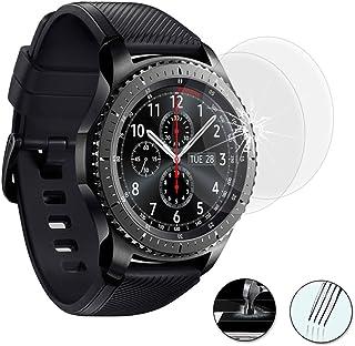 HCN PHONE ® film skärmskydd serie Samsung Gear – 2 filmer hårt glas, Samsung Gear S3 Frontier LTE/ s3 Classic