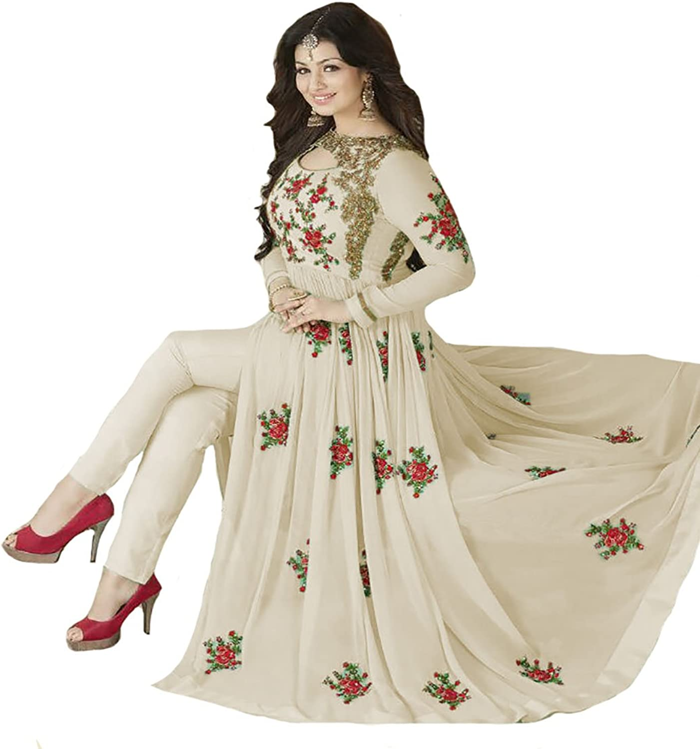 Aisha Takia Anarkali Salwar Kameez Suit Dupatta Ceremony Collection H1