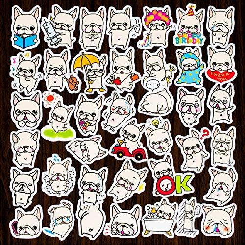 DIY Pocket Stickers French Bulldog Album Album Decoration Diary Sticker 35 pcs Scrapbooking (1)
