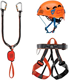 Climbing Technology Escoba Evolution Galaxy Set ferrata, Multicolor, Talla unicaca
