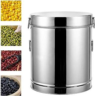 Pots et bocaux de conservation Boîte de Rangement en Acier Inoxydable for Le ménage Cuisine Grande capacité de Stockage Co...