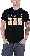 The Human League T Shirt Dare Album Band Logo Official Mens Black Size XL