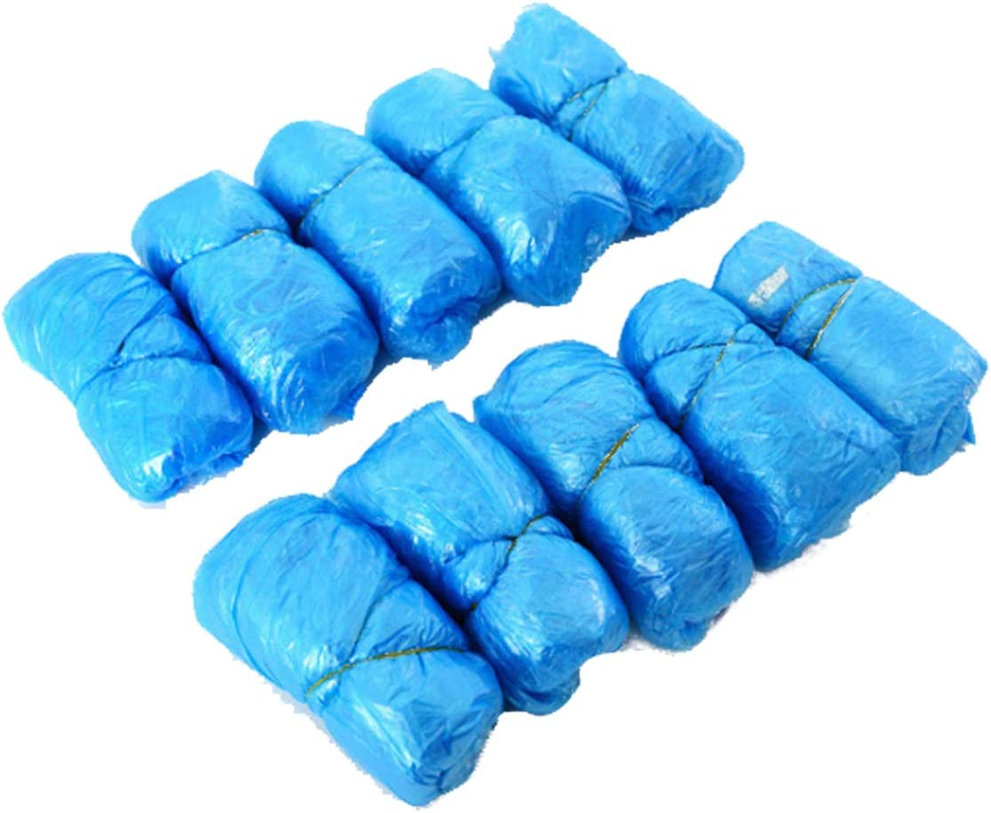 XIAOBAI 200pcs Anti Slip Tampa Mall Waterproof Disposable Shoe Boot Covers In a popularity