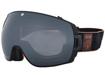 Spy Optic Legacy (Spy+Eric Jackson Happy Gray Green w/ Silver Spectra+Happy Yellow) Snow Goggles