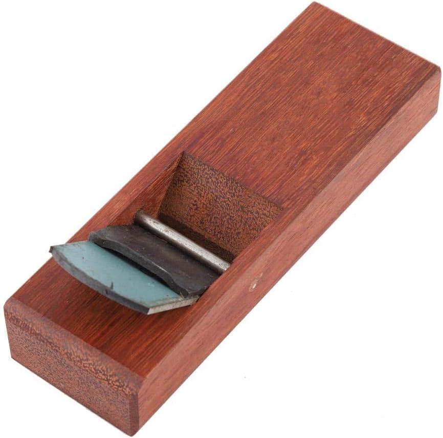 Mini planificador de mano port/átil de madera para carpintero con hoja de planificador