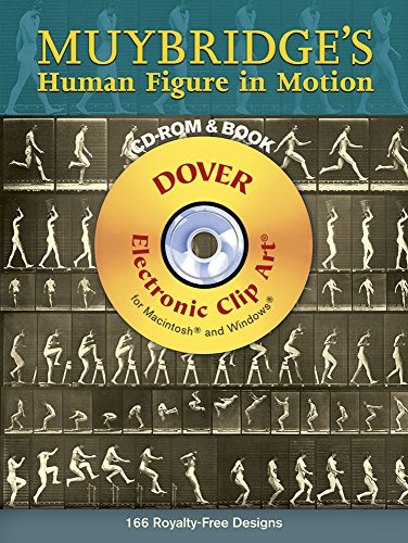 Muybridge's Human Figure in Motion CD-ROM and Book (Dover Electronic Clip Art)の詳細を見る