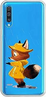 Oihxse Transparente Silicona Case Compatible con Samsung Galaxy Note 5 Funda Suave TPU Protección Carcasa Moda Dibujos Ani...