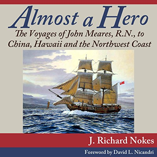 Almost a Hero audiobook cover art