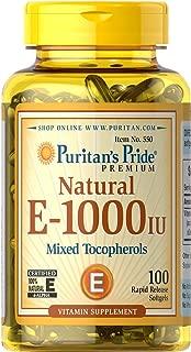 vitamin e 1000 iu 250 softgels