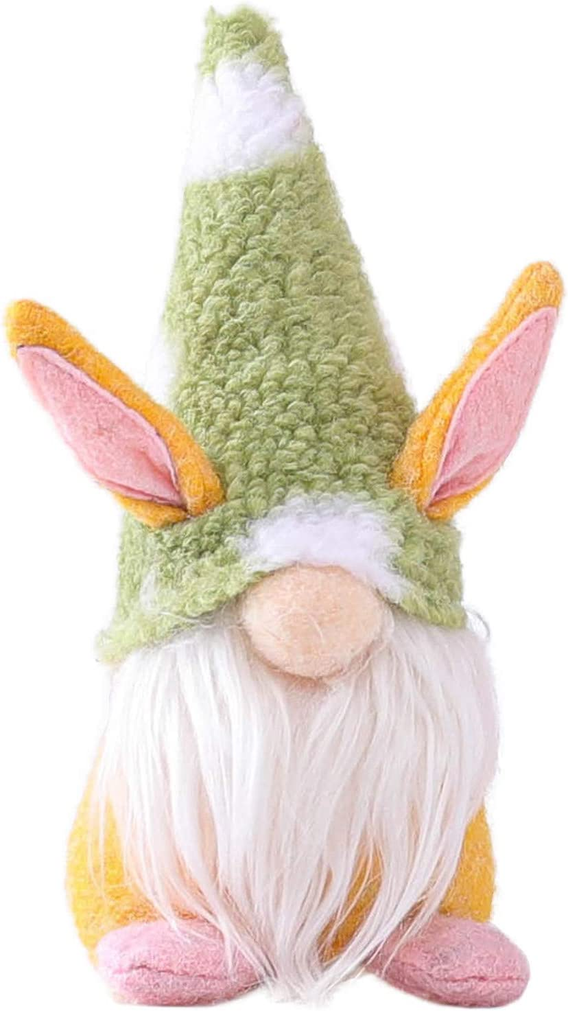ANDLUV Easter Excellent High order Bunny Gnome Decoration Holiday Ornaments Handmade