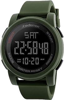 Redlemon Reloj Deportivo con Pantalla Digital, Resistente al
