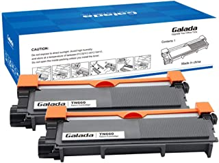 Galada Compatible Toner Cartridge Replacement for Brother TN630 TN660 TN-630 TN-660 for Dcp-l2520dw Dcp-l2540dw Mfc-l2700dw Mfc-l2720dw Mfc-l2740dw Hl-l2340dw Hl-l2320d Hl-l2360dw Hl-l2380dw 2 Pack