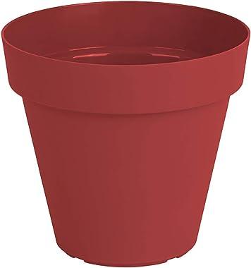 ARTEVASI 5600442817898 Capri Pot 25 cm Dark, red, red