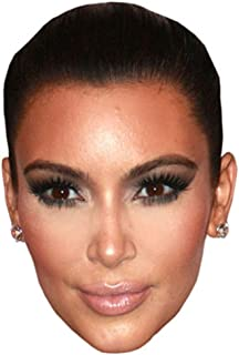 Kim Kardashian Celebrity Mask, Cardboard Face and Fancy Dress Mask