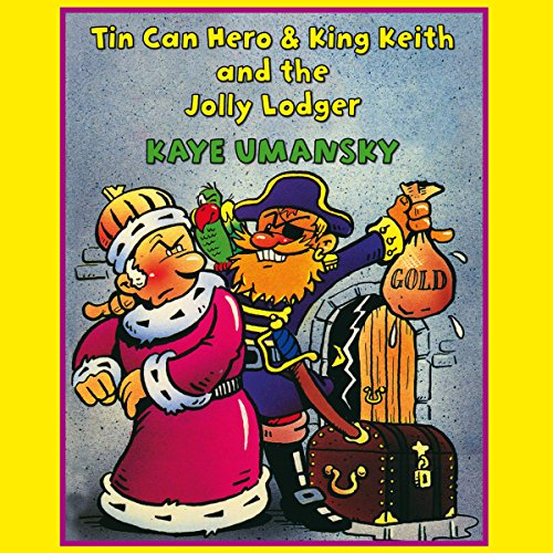 'Tin Can Hero' and 'King Keith and the Jolly Lodger' audiobook cover art