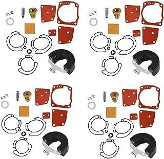 4 Pack 438996 Carburetor Repair Kit For Johnson Evinrude 438996 435442 436852 18-7247 Carb Rebuild Set New