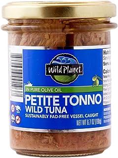 Wild Planet, Petite Tonno Wild Tuna in Pure Olive Oil, 6.7 oz (190 g)