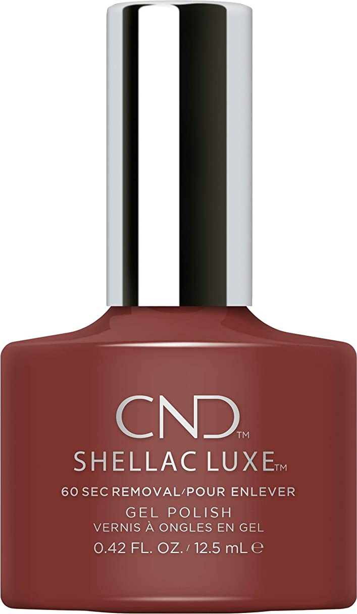 名誉受動的相手CND Shellac Luxe - Oxblood - 12.5 ml / 0.42 oz