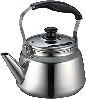 安くて良いパールメタル広口ケトル3.0L茶漉しIH対応ステンレス鋼..買う