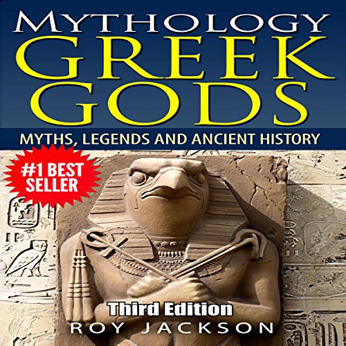 Mythology: Greek Gods audiobook cover art