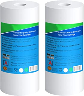 (2-PACK) Big Blue Whole house Sediment Water Filter 4.5
