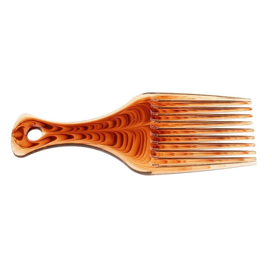 突っ込むどうしたの徐々にPerfk ヘアブラシ 髪の櫛 プラスチック製 サロン バリバー アフロ ヘアピック ブラシ 櫛