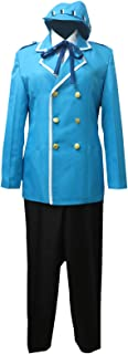 Naoto Shirogane Detective Prince Blue Uniform Outfit Game Cosplay Costume